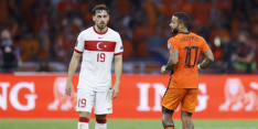 Kökcü en Turkije vestigen hoop nu op Nederlands elftal
