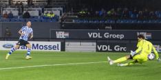 Eindhoven meldt zich in subtop na late treffer in Brabantse derby