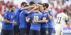 Italië wint net als op het EK van België in ongewenste kleine finale