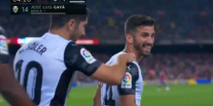 Heerlijke poeier Valencia brengt Barça op achterstand