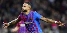 Machine Memphis neemt Barça bij de hand