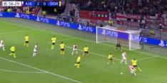 Video: Antony trekt naar binnen en beslist Ajax - Dortmund!