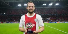 Blind sleept UEFA-eretitel in de wacht na voetbalshow Ajax