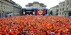 KNVB en Oranje-fans genomineerd voor FIFA-prijs