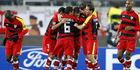Sevilla vloert titelhouder Barcelona in Copa