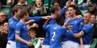 Rangers loopt in op Celtic door minimale zege