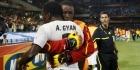 Gyan helpt Ghana op valreep aan zege op Algerije
