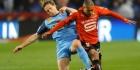 Leider Brest verliest van Rennes en zakt weg