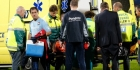 Verdediger Swinkels per ambulance afgevoerd