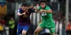 Barça weer bovenaan na zege op Santander