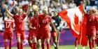 Canadese voetbalsters grijpen brons
