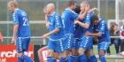 Katwijk morst, GVVV en Barendrecht profiteren