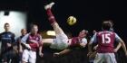 Rode kaart West Ham-spits Carroll blijft staan
