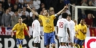 Zlatan maakt er vier, Portugal niet langs Gabon