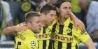 Dortmund laat op gang, ook Wolfsburg door