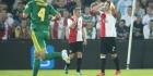 Feyenoord ondanks sterk begin uitgespeeld