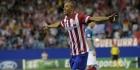 Atlético boekt magere zege en houdt Barcelona in vizier