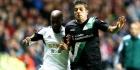 Swansea overleeft hands Tiendalli, Wigan wint
