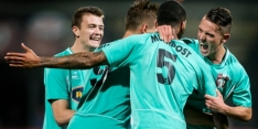 FC Dordrecht steviger aan kop, Jong PSV klimt