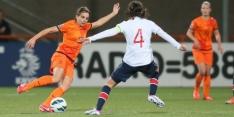 Oranje Leeuwinnen onderuit tegen Noorwegen