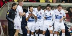 Dordrecht vergroot gat met Willem II, Oss zegeviert
