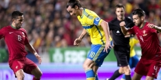 Ibrahimovic blij met punt in Wenen, Arnautovic baalt