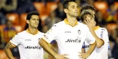 Valencia stelt teleur, Malaga verspeelt 3-0 voorsprong