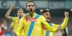 Napoli morst dure punten, Udinese klopt Livorno