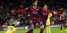 Ruime zege brengt Barcelona naar achtste finales