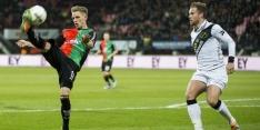 Gezapig gelijkspel tussen NEC en NAC in Nijmegen