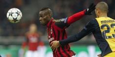 Balotelli en De Sciglio niet ongeschonden uit CL-duel