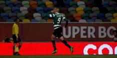 Sporting wint dankzij vroeg en laat doelpunt