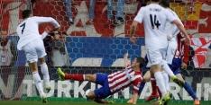 Meeslepende Madrileense derby gelijk, Barça profiteert