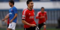 Fraaie lob Gaitan helpt Benfica, Porto haakt af