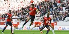 Ongeslagen Lille grijpt koppositie in Ligue 1