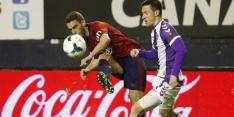 Osasuna en Real Valladolid hebben weinig aan punt