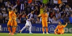 Real Madrid lijdt duur puntenverlies bij Valladolid