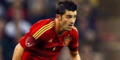 Twee treffers Villa voldoende voor winst Spanje