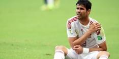 Spanje mist Diego Costa, jonge El Haddadi vervanger
