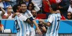 Argentinië na doelpuntrijke zege verder als groepswinnaar