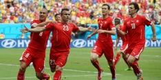 Hattrick Shaqiri helpt Zwitserland naar achtste finales