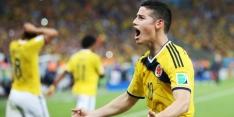 Colombia pakt op nippertje drie punten tegen Bolivia