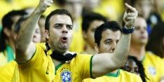 Engelse vrouwen vloeren Mexico, Brazilië ronde verder