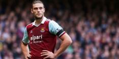 Carroll opnieuw in lappenmand bij West Ham United