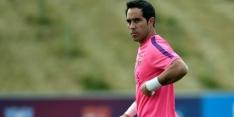 Barcelona-doelman Bravo krijgt groen licht voor rentree