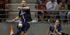 Ibrahimovic speelt hoofdrol bij remise Paris Saint Germain