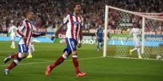 Atlético maakt zich na gelijkspel op voor clash met Real
