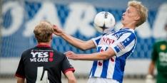 Heerenveen optimistisch over Thorsby en Nordfeldt