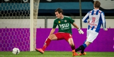 "Middenvelder Vermeulen op doel: ""Helaas ging penalty erin"""