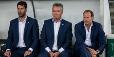 """Hiddink bleef rustig: """"Wist dat het goed zou komen"""""""
